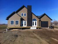 New House at Fishing Lake, SK