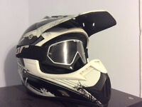 Casque de moto (scooter/motocross)