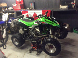 2008 kfx 450r, nice bike, has papers, 3300$