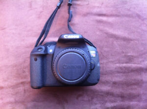 Canon Rebel T5i with 18-135mm and 50mm f/1.8 lenses