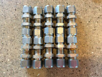 """Swagelock Bulkhead Connectors 1/2"""" Sold in lots of 10."""