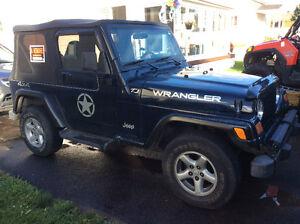 2002 Jeep TJ VUS