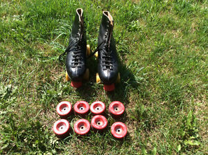 Mens size 8 Dominion roller skates