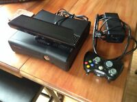 Xbox 360 Kinect with 3 Kinect games