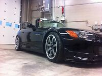 "18"" s2000 roues et pneus Mags Wheels staggered AXIS"
