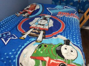 Thomas The Train Comforter and Curtains