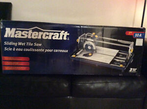 Brand new tile saw still unopened in box