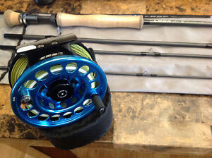 Loop Cross S1 flatsman 10' and evotec reel