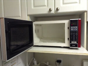 Stainless microwave