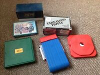 Frustration, Cluedo, Battleships Travel games