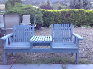 PATIO BENCH SEAT