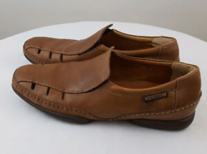 MEPHISTO COOL-AIR Mens Vented Brown Slip On Loafers Shoes Sz 11
