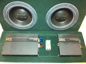 """Jeep YJ highly customized stereo system 2x 12"""" + 2x 8"""" subwoofer Windsor Region Ontario image 6"""
