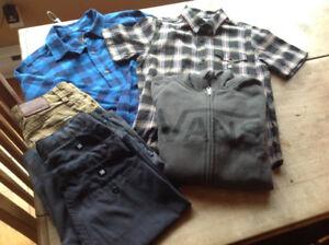 Vêtements garçons DC Vans Quiksilver