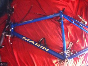 Marin muirwoods bike frame /fork Kitchener / Waterloo Kitchener Area image 1