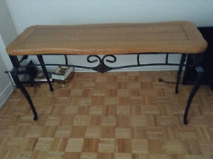 Console table, hall table