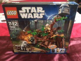 Lego Star Wars Ewock attack 7956