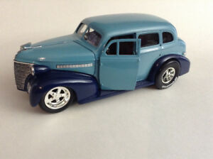 FOR SALE:  1939 CHEVY MASTER DELUXE 1:24 SCALE DIECAST