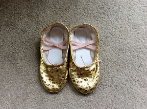 Brand new Girl Ballet Dance or Gymnastics shoes size 1