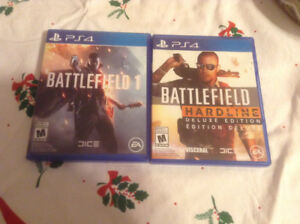 3 battlefield games for the PS4