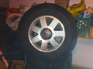 Toyo Open Country winter tires on original Ford Rims