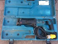 Makita reciprocating saw 110v