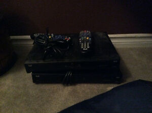2 Bell 6131 Satellite Receivers with remotes