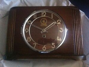 Antique clock Lamps & other items
