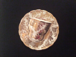 Cups saucers English China Aynsley and Others