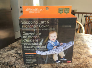 Baby - shopping cart and high chair cover