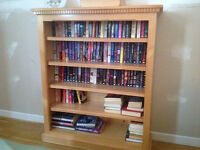 Bookcase / Bibliothèque in Solid Pine Custom Made by Canadian