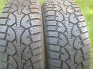 """PAIR OF 16"""" CHALLENGER SNOW TIRES"""