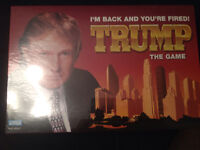 Brand New Sealed Trump The Board Game-----------$10.00