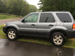 2007 Ford Escape AWD SUV, Crossover