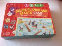 Pirates Adventure Board Game (M&S) New