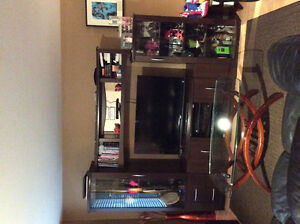 Large wall unit very good condition.