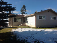 Home with basement 3 bed 2.5 bath Available Now! Logan Lake.