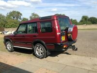Land Rover discovery td5 year 2000 X reg mot July 18