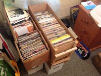 "Wanted vinyl records 7"" 12"" Lps"