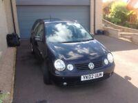 2002 VW Polo 1.9 Tdi (black) 110 BHP for Sale