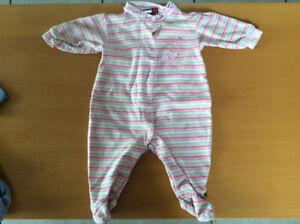 Lot de pyjamas bébé fille nouveau né à 3 mois