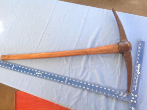 "36"" X 23 5/8"" Vintage Railroad Style Pickaxe"