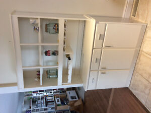 Kitchen cabinet, white