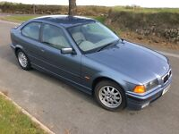 BMW 318ti SE compact 64,000 miles one owner stunning