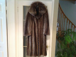 Raccoon coat