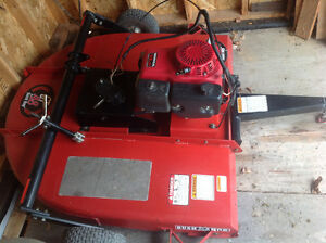4 ft.ATV brush hog with 13 hp Honda motor