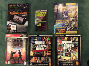 Video game books and codes