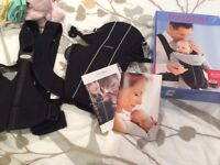 Baby Bjorn Active baby Carrier. Black. Boxed with instructions.
