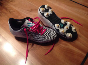 Size 1 soccer cleats