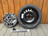 Vauxhall Astra space safer wheel